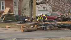 Drunk Driver Crashes Car, Takes Down Multiple Utility Poles