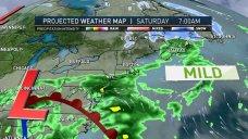 Storm Creeps Toward New England with Rain