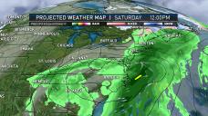Snow Showers Heading Toward New England