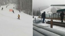 With Snow Falling, World Cup Preps Underway at Killington
