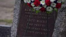 Stolen Plaque Honoring Veterans Returned to Maine Park
