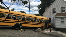 9 Injured in Quincy, Mass. School Bus Crash