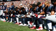 Patriots Explain Decisions to Kneel, Link Arms During Anthem