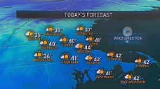 High Pressure Brings in Chilly Temps