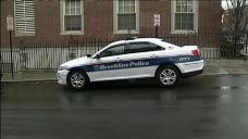 Brookline Police Officer Injured in Crash