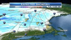 Morning Snowfall: Just In Time for Monday Commute
