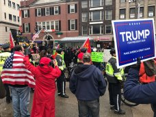 Dueling Trump Rallies in Boston