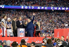 Scenes From the Patriots' Comeback AFC Championship Win