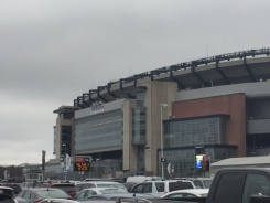 Fans Get Ready For AFC Championship Game