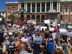 Protesters Against Separation of Immigrant Families Gather at Mass. State House