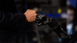 Brain Chips Help Paralyzed Man Fist-Bump President Obama