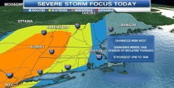 New England Tornado Watches Cancelled