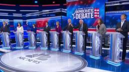 10 Democrats Take Stage in Presidential Debate