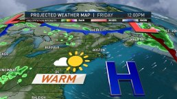 Scattered Showers in the Forecast for Memorial Day Weekend