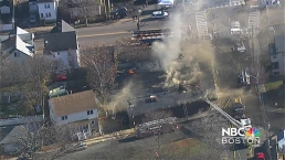 Numerous Buildings Involved in 3-Alarm Fire in Malden, Mass.