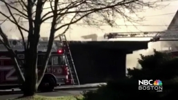 Viewer Video: Fire Breaks out in Malden, Mass.