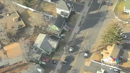 Car Crashes into Home in Lynn, Mass