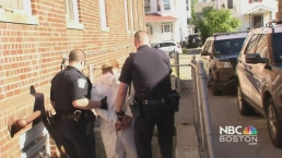 Malden Murder Suspect Arrives to Police Station