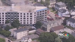 Large Fire Breaks Out in Dorchester