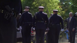 Officials Salute, Mourn Weymouth Sgt. Chesna at Procession