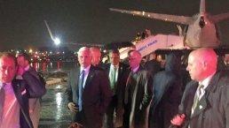 Pence Plane Skids off LaGuardia Runway