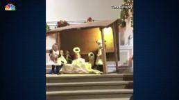 Preschoolers Battle for Baby Jesus Doll