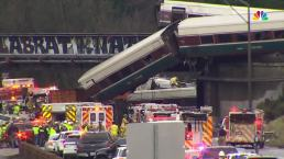 RAW VIDEO: Amtrak Train Derails in Washington