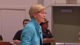 Elizabeth Warren Talks Health Care at Town Hall