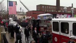 Fallen Firefighter Lt Jason Menard Honored at Funeral