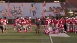 Football Team Raising Money for Breast Cancer Research