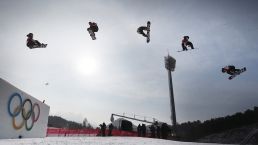 Feb. 24 Olympics Photos: US Takes Silver in Big Air