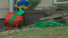 Woman Tries to Run Over Ex-Boyfriend, Yells 'Merry Christmas