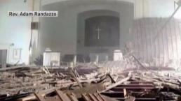 Ipswich Church Ceiling Suddenly Collapses
