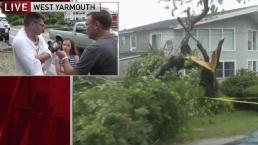Man Describes Tornado Tearing Roof Off His Hotel Room