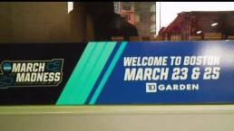 March Madness Visits Boston