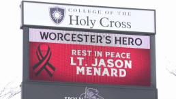 Mourning the Death of Fire Lt Jason Menard