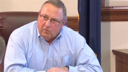 Maine Gov. Addresses Profane Voicemail