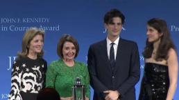 Nancy Pelosi Awarded 'Profile in Courage' at JFK Library