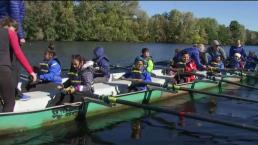 Elite Rowers Give Lessons to Boston Public School Students on Charles River