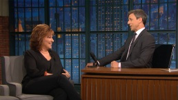 'Late Night': Joy Behar Dishes on the Trump-Maples Wedding
