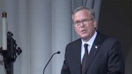 Jeb Bush Reads Wedding Anniversary Letter From Dad to Mom