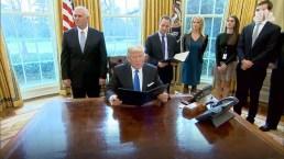 Trump Signs Orders on Keystone, Dakota Access Pipelines