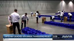 United Way Launches 19th Annual Thanksgiving Project