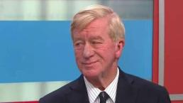 Weld Talks About His Primary Battle Against Trump