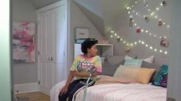 Young Cancer Patient Has New Room to Call Her Own