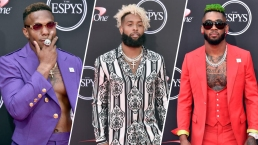 ESPYs 2018 Fashion: Athletes, Celebs' Bold Red Carpet Looks