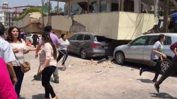 RAW VIDEO: Earthquake Rattles Mexico City