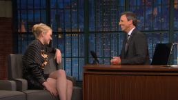 'Late Night': Emma Stone's Winning Spelling Bee Word