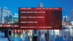necn Weather Team Breaks Down Snow Timeline, Projections
