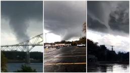 WILD IMAGES: Funnel Clouds, Severe Damage From Storms